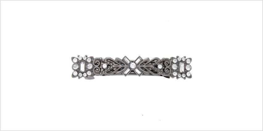Go to Product: Hematite Greek Goddess Crystal Hair Barrette from Claires