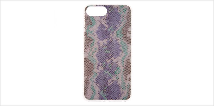 Go to Product: Glitter Snake Skin Phone Case - Fits iPhone 6/7/8 Plus from Claires