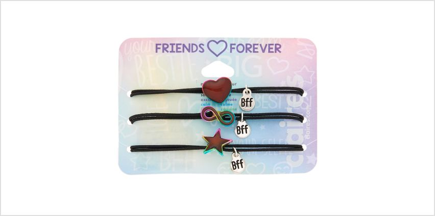 Go to Product: Mood Symbol Stretch Friendship Bracelets - 3 Pack from Claires