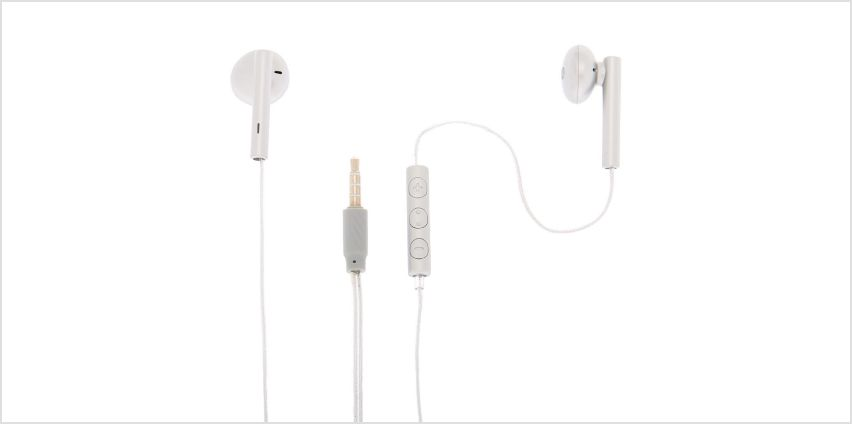Go to Product: Matte Earbuds with Mic - Silver from Claires