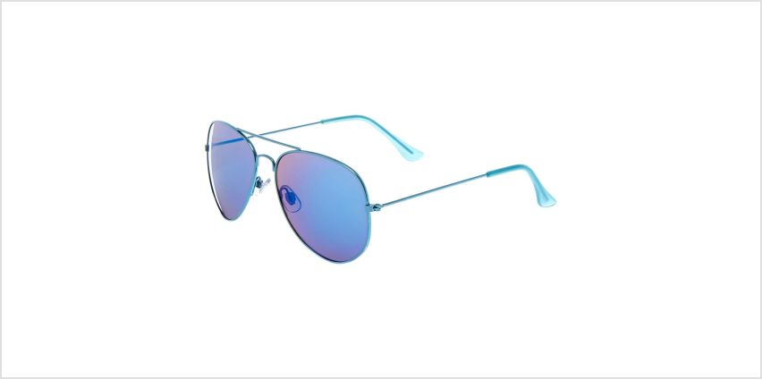 Go to Product: Mirrored Aviator Sunglasses - Blue from Claires