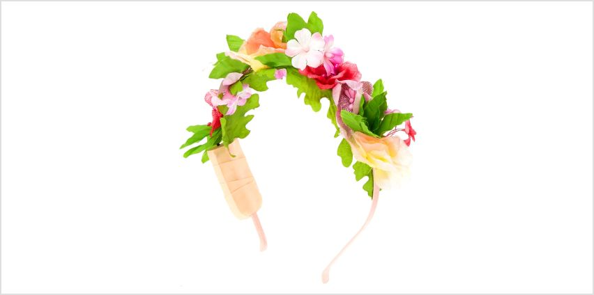 Go to Product: Light Up Summer Flower Crown Headband from Claires