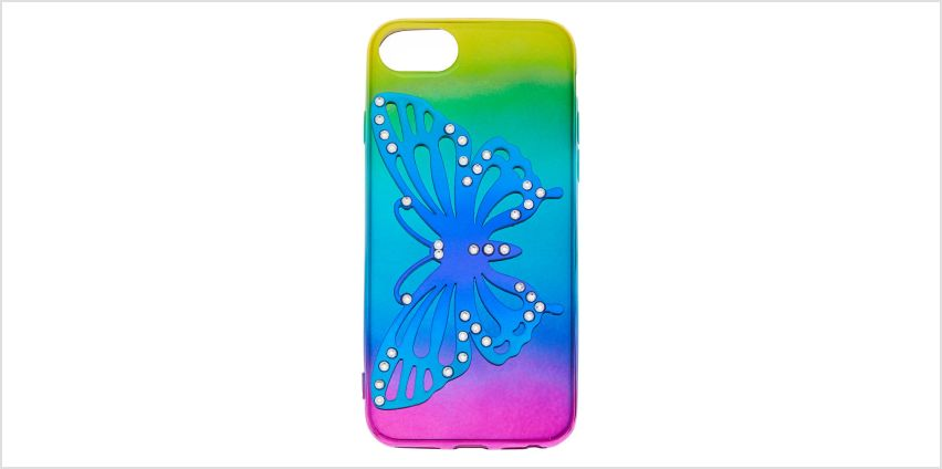 Go to Product: Rainbow Butterfly Phone Case - Fits iPhone 6/7/8 from Claires