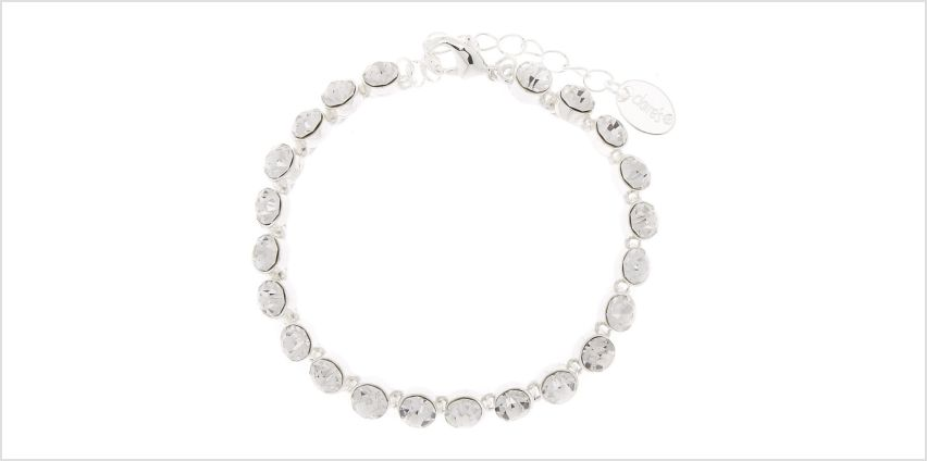 Go to Product: Silver Rhinestone Chain Bracelet from Claires