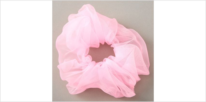 Go to Product: Giant Organza Hair Scrunchie - Pink from Claires