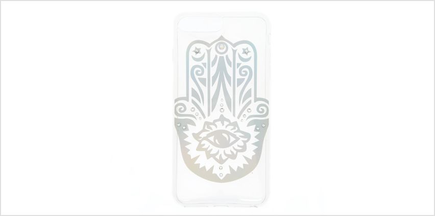 Go to Product: Holographic Hamsa Hand Phone Case - Fits iPhone 6/7/8 Plus from Claires