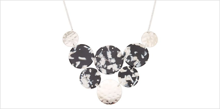 Go to Product: Black & White Resin Bib Statement Necklace from Claires
