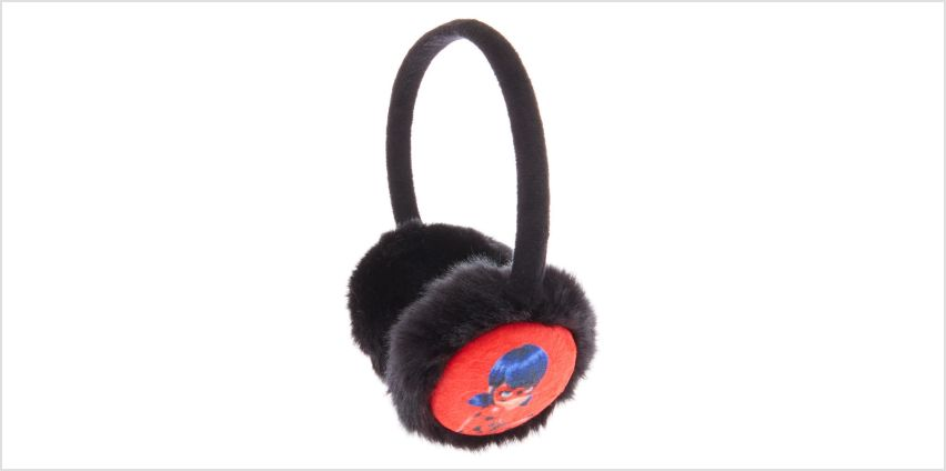 Miraculous™ Furry Ear Muffs- Black from Claires