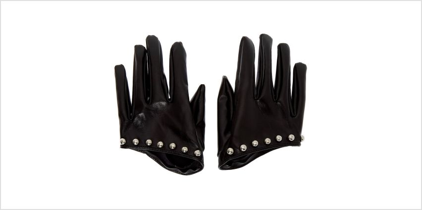 Go to Product: Biker Half Gloves - Black from Claires