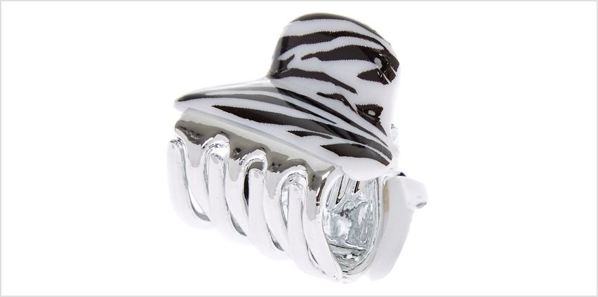 Go to Product: Mini Zebra Hair Claw from Claires