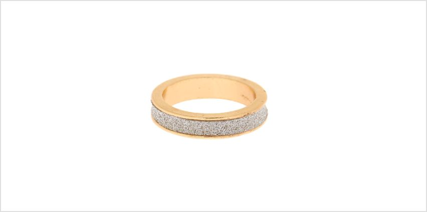 Go to Product: Gold Glitter Ring - Silver from Claires