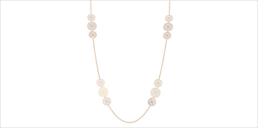 Go to Product: Gold Filigree Long Necklace from Claires