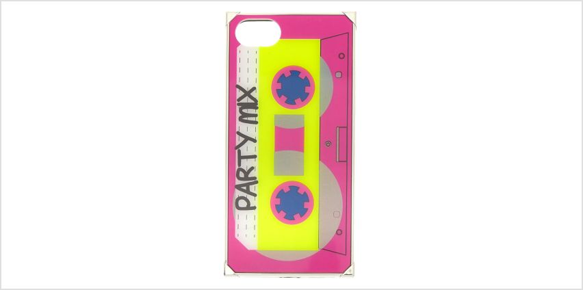 Go to Product: Mixtape Square Phone Case - Fits iPhone 6/7/8 from Claires