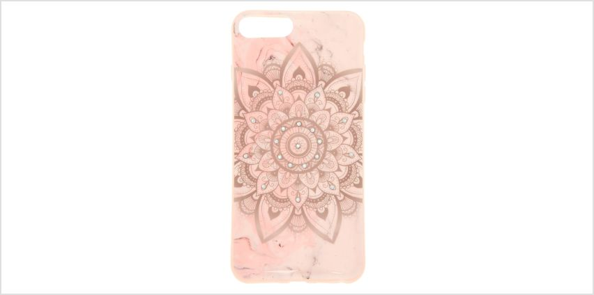Go to Product: Marbled Mandala Phone Case - Fits iPhone 6/7/8 Plus from Claires