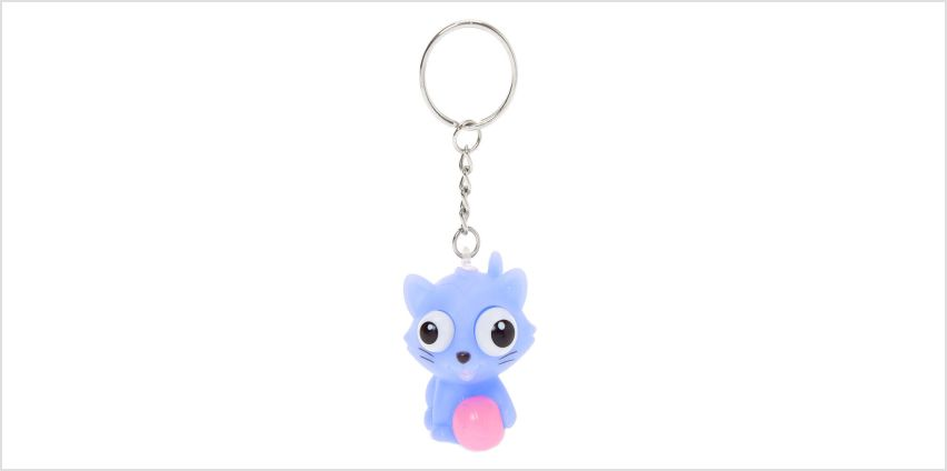 Go to Product: Cat Eye Pop Keychain - Purple from Claires
