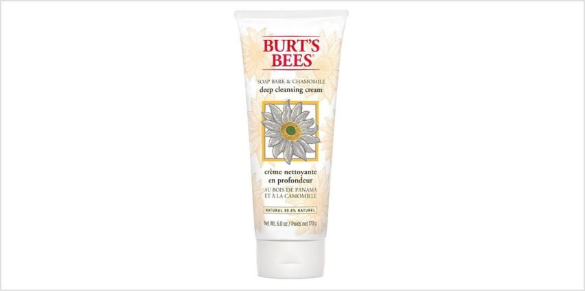 Burt s Bees Soap Bark & Chamomile Deep Cleansing Cream 170g from Superdrug