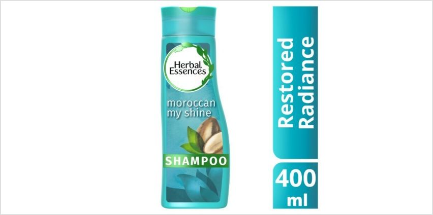 Herbal Essences Moroccan My Shine Shampoo Argan Oil 400ml from Superdrug