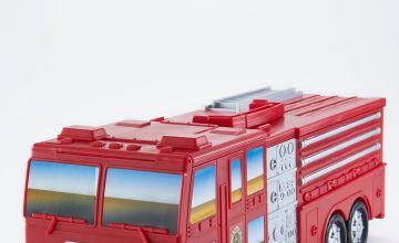 Motor Max Take Along Fire Station Playset