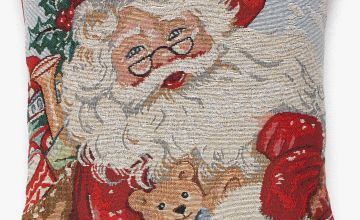 Father Christmas Filled Cushion