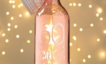 60th Birthday Starlight Bottle