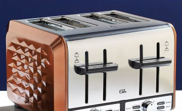 Diamond 4-Slice Toaster