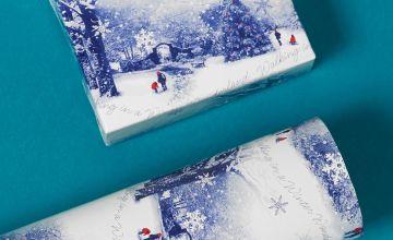 Winter Scene Roll Wrap