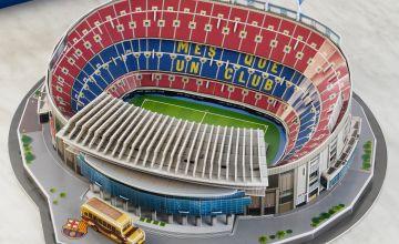 3D Football Stadium Jigsaw Puzzle - Barcelona FC