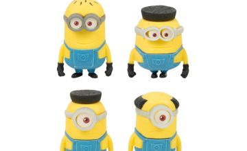 Despicable Me 3 8 Pack Puzzle Erasers