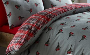 Robin Brushed Cotton Duvet Set