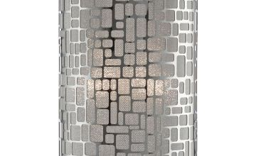 Silver Pendant Easy Fit Light Shade