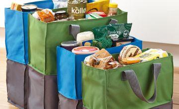4 Expanding Shopping Bags