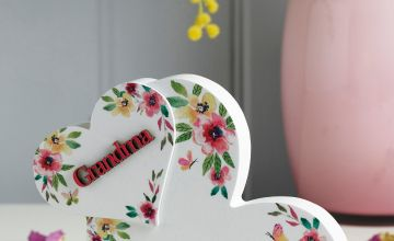 Love Heart Plaque Grandma
