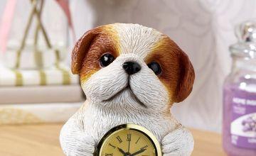 Shih-Tzu Clock