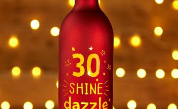 Light Up Bottle 30th Birthday