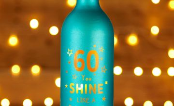 Light Up Bottle 60th Birthday