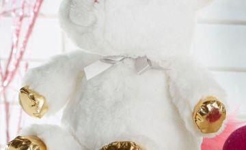 Fantasy White Unicorn Heatable Teddy