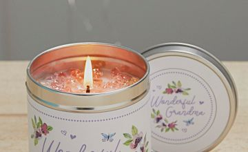 Sprinkled with Love Candle Grandma