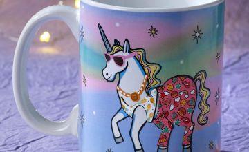 Unicorn Dress Up Mug