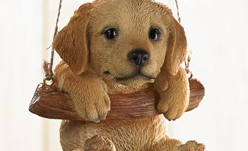 Rocking Pet Pals Hanging Ornament Golden Retreiver