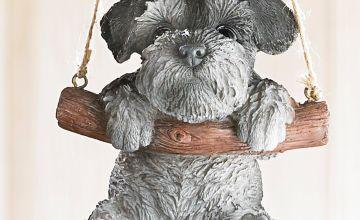Rocking Pet Pals Hanging Ornament Schnauzer