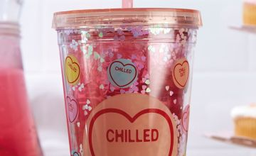 Love Heart Straw Cup