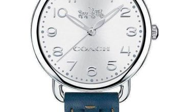 Coach Charm Stainless Steel Watch