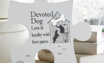 Devoted Dog Pet Jigsaw Wall Art