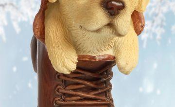 Golden Labrador Pet Pal Hanging Boot Ornament