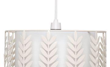 Thora Cream Easy Fit Pendant Light Shade