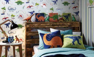 Dino Doodles Multi Wallpaper