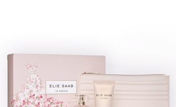 Elie Saab Rose Couture EDT Gift Set with Cosmetic Bag