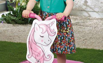 Toddler Unicorn Trampoline