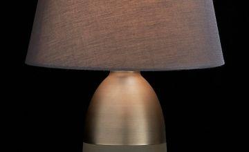 Metallic Touch Lamp