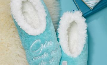 Gin Snoozie Slippers